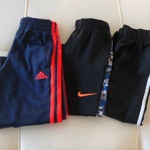 Nike Adidas Jumping Bean Athletic Pants Bundle 4T
